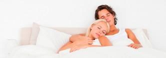 sovende par